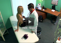 fake hospital squirting blonde